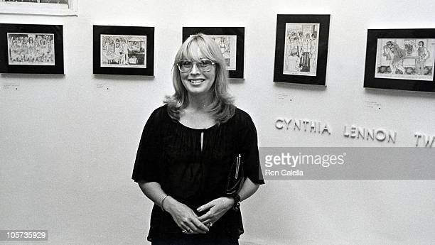 Cynthia Lennon Twist during Cynthia Lennon's Pen and Ink Drawings Exhibited at Tower Gallery in Southampton in Long Island New York United States