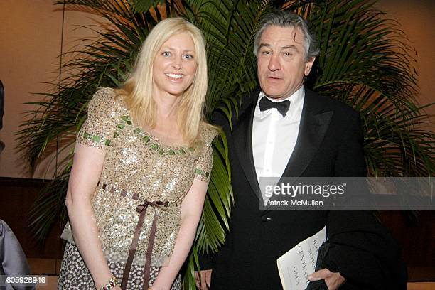 Cynthia Lufkin and Robert DeNiro attend The JUILLIARD Centennial Gala Live at Lincoln Center at The Juilliard School on April 3 2006 in New York City