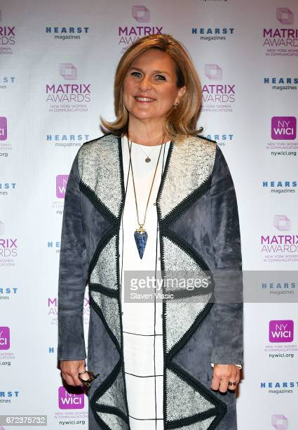 Cynthia McFadden attends 2017 Matrix Awards at Sheraton New York Times Square on April 24 2017 in New York City