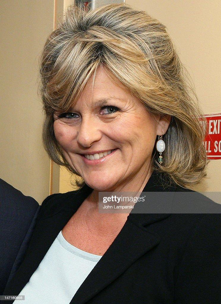 Cynthia McFadden attends the ABC News Bone Marrow Drive at ABC Studios on June 26, 2012 in New York City.