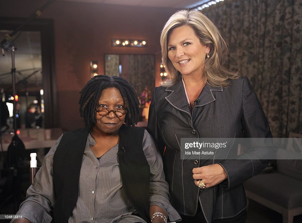 NIGHTLINE - Cynthia McFadden interviews Whoopi Goldberg for the publication of her new book 'Is it Just Me? Or is it nuts out there?,' on NIGHTLINE airing TUESDAY, OCT. 5 (11:35pm, ET) on the ABC Television Network. (Photo by Ida Mae Astute/ABC via Getty Images) WHOOPI