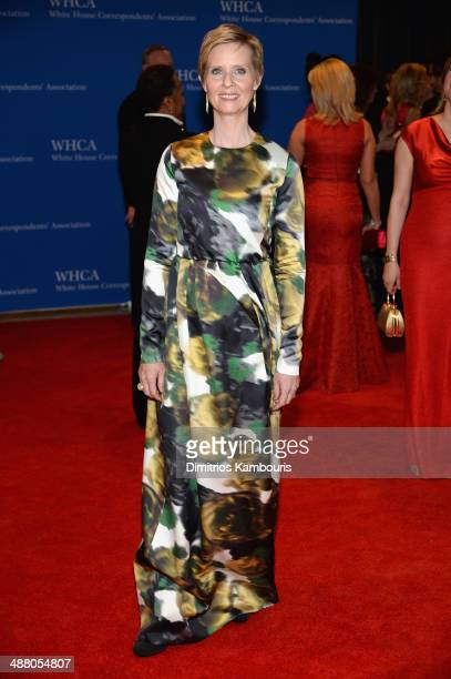 Cynthia Nixon attends the 100th Annual White House Correspondents' Association Dinner at the Washington Hilton on May 3 2014 in Washington DC