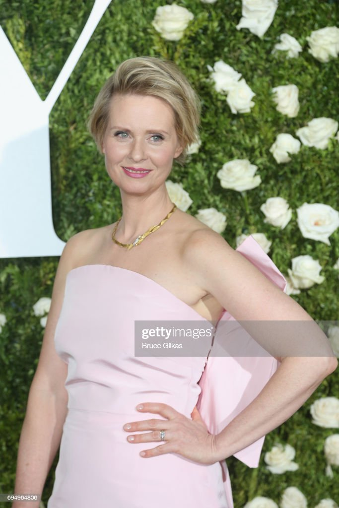 Cynthia Nixon attends the 71st Annual Tony Awards at Radio City Music Hall on June 11, 2017 in New York City.