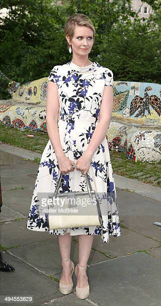 Cynthia Nixon attends the NYRP 13th annual spring gala at General Grant National Memorial on May 29 2014 in New York City