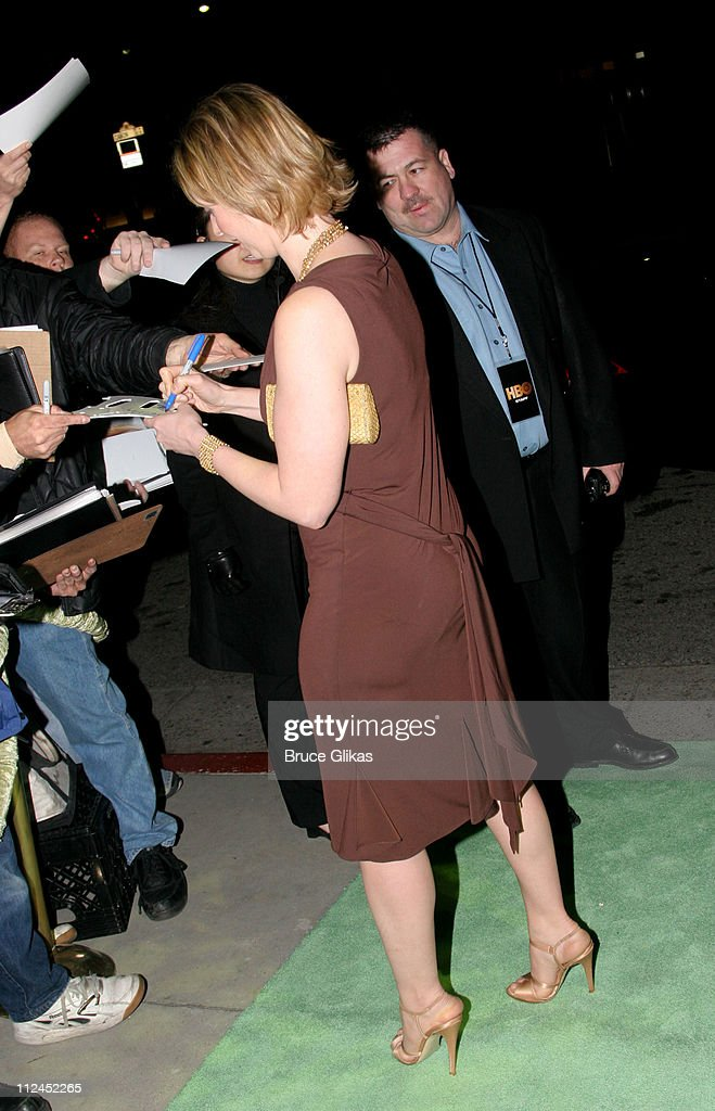 Cynthia Nixon during 2005 Screen Actors Guild Awards - HBO Post SAG Awards Dinner at Spago Restaurant in Beverly Hills, California, United States.