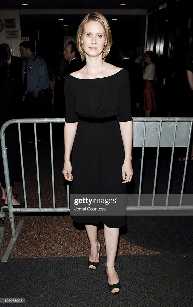 Cynthia Nixon during 51sth Annual Drama Desk Awards - Arrivals at FH LaGuardia Concert Hall at Lincoln Center in New York City, New York, United States.