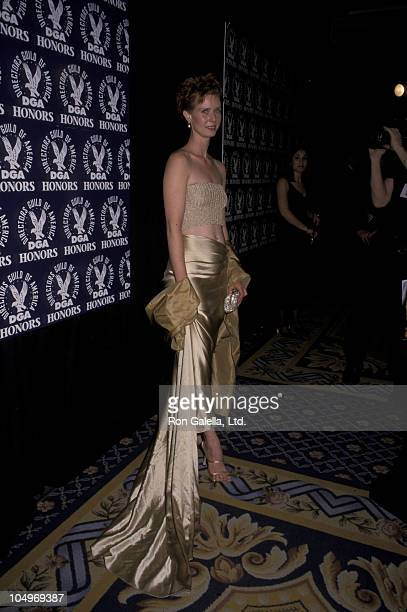 Cynthia Nixon during Directors Guild of America Gala Honoring Mike Nichols and Sydney Pollack 2000 at Grand Hyatt in New York New York United States