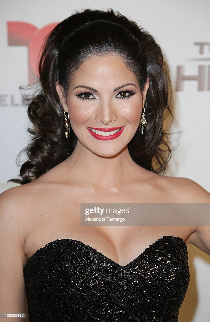 Cynthia Olavarria attends Telemundo's Todos Somos Heroes Gala on May 7, 2013 in Miami, Florida.