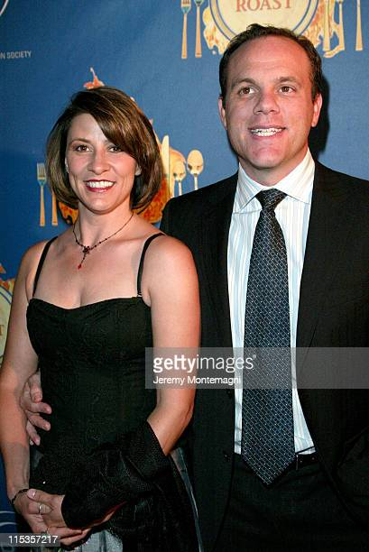 Cynthia Papa and Tom Papa during The Hollywood Radio And Television Society's 1st Annual Roast In Honor Of Jeff Zucker at Century Plaza Hotel in...
