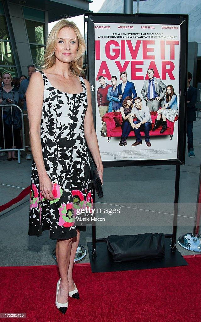 Cynthia Preston arrives at the Screening Of Magnolia Pictures' 'I Give It A Year' at ArcLight Hollywood on August 1, 2013 in Hollywood, California.