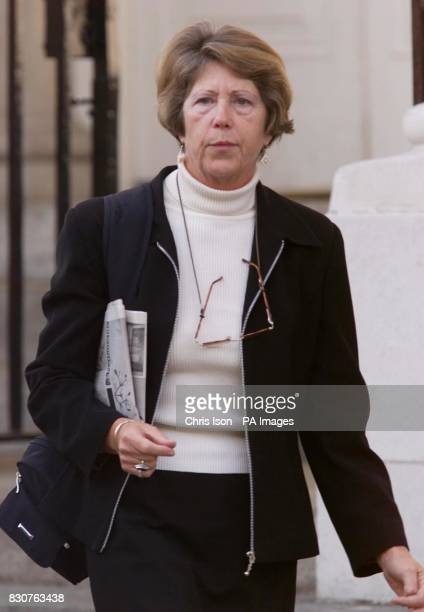 Cynthia Read at Lewes Crown Court in East Sussex who gave evidence in the trial of Roy Whiting the man accused of abducting and killing eight year...