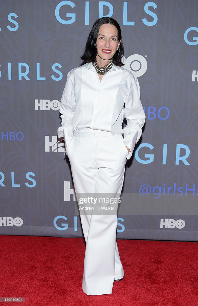 Cynthia Rowley attends the premiere of 'Girls' season 2 hosted by HBO at NYU Skirball Center on January 9, 2013 in New York City.