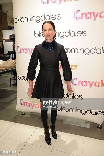 Cynthia Rowley attends The Selective Looks Inspired By Classic Crayola Hues Event Ronny Kobo Parker Cynthia Rowley Milly Rebecca Taylor and Amanda...