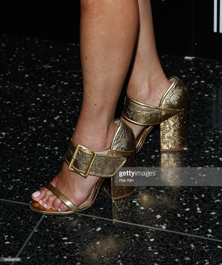 Cynthia Rowley shoe detail attends Sony Pictures Classics 'Irrational Man' premiere hosted by Fiji Water Metropolitan Capital Bank and The Cinema...