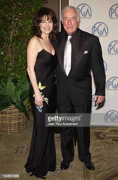 Cynthia Sikes and Bud Yorkin during 14th Annual Producers Guild of America Awards at Century Plaza Hotel in Los Angeles California United States