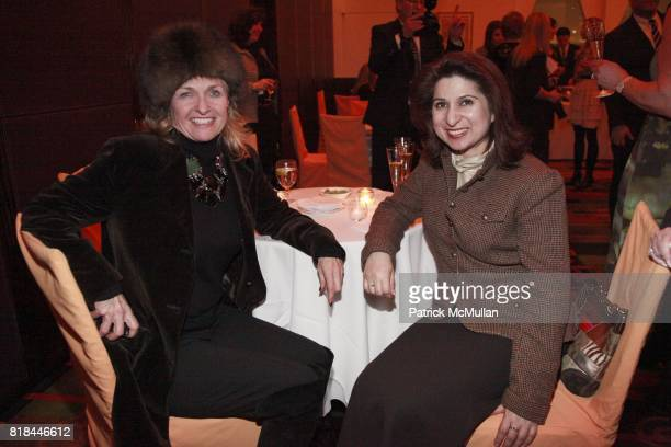 Cynthia Tsai and Mona Shah attend MOMENTUM WOMEN Honor Fern Mallis with the Momemtum Award at Le Cirque Sponsored by CESLIE The Women's Network and...
