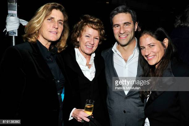 Cynthia Wornham Ann Philbin Michael Govan Katherine Ross attend NICOLAS BERGGRUEN's 2010 Annual Party at the Chateau Marmont on March 3 2010 in West...