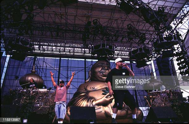 Cypress Hill during Lollapalooza 1995 Downing Stadium at Downing Stadium in New York City New York United States