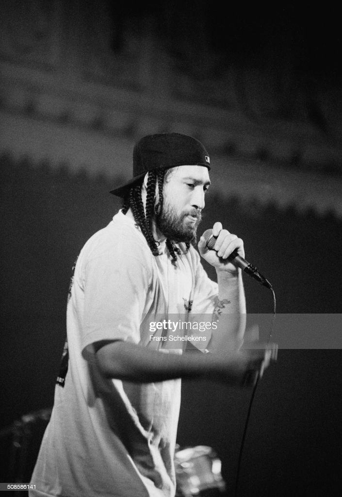 Cypress Hill performs at the Paradiso on 13th February 1994 in Amsterdam, Netherlands.