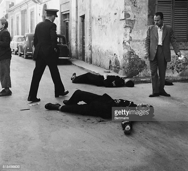 EOKA Terrorists Murder Policemen