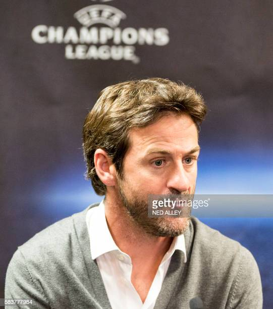 Cyprus' Apoel FC coach Thomas Christiansen is pictured during the UEFA Champions League football third qualifying round first leg match against...