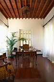 Cyprus, Office in colonial style mansion