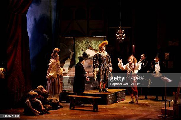 Cyrano de Bergerac by Edmond Rostand's Comedie Francaise staged by Denis Podalydes Costumes by Christian Lacroix Eric Ruf scenery Michael Favory...