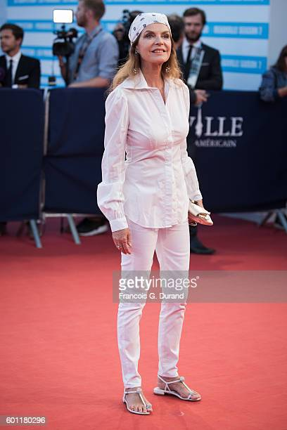 Cyrielle Clair arrives at the 'Imperium' Premiere during the 42nd Deauville American Film Festival on September 9 2016 in Deauville France