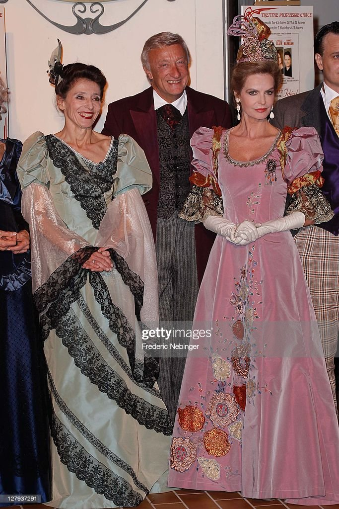 <a gi-track='captionPersonalityLinkClicked' href=/galleries/search?phrase=Cyrielle+Claire&family=editorial&specificpeople=606893 ng-click='$event.stopPropagation()'>Cyrielle Claire</a> and french actors attend the heatre Princesse Grace 30th Anniversary Celebration at Theatre Princesse Grace on October 3, 2011 in Monaco, Monaco.