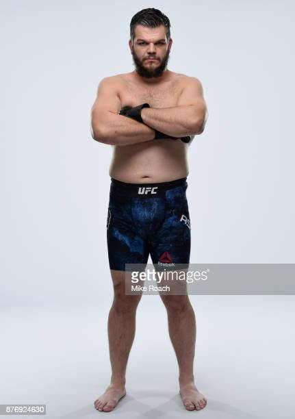 Cyril Asker of France poses for a portrait during a UFC photo session on November 21 2017 in Shanghai China