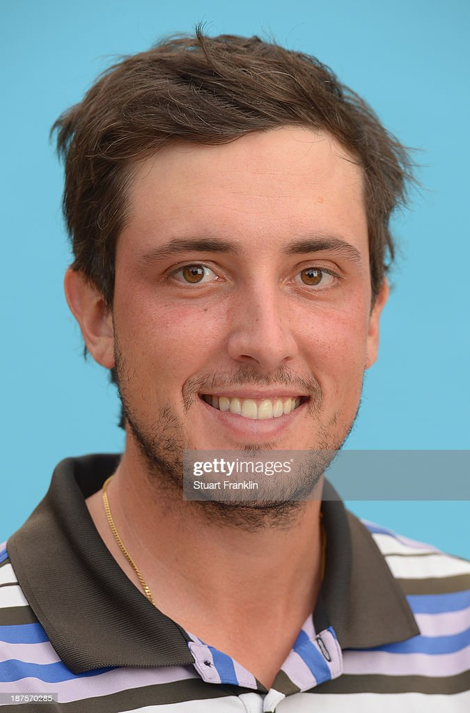 Cyril Bouniol of France poses for a photograph during the first round of European Tour qualifying school final stage at PGA Catalunya Resort on November 10, 2013 in Girona, Spain.