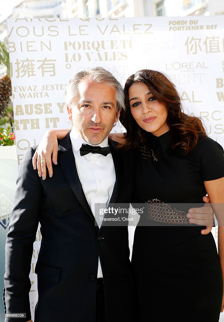 Cyril Chapuy (L) attends the cocktail reception for L'Oreal during The 66th Annual Cannes Film Festival on May 17, 2013 in Cannes, France.