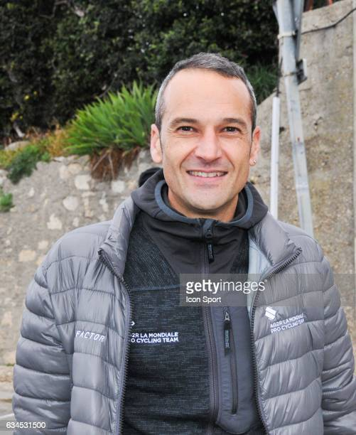 Cyril Dessel Sports director of Ag2R la Mondiale during the stage 1 of the Etoile of Besseges on February 1 2017 in Beaucaire France