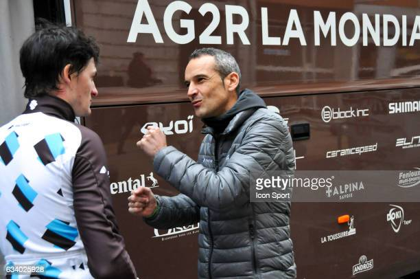 Cyril Dessel Sports director of Ag2r La Mondiale during the stage 5 of the Etoile of Besseges from Ales to Ales on February 5th 2017 in Ales France