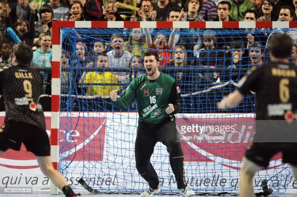 Cyril DUMOULIN Chambery / Rhein Neckar Lowen Ligue des Champions 2010/2011 Chambery