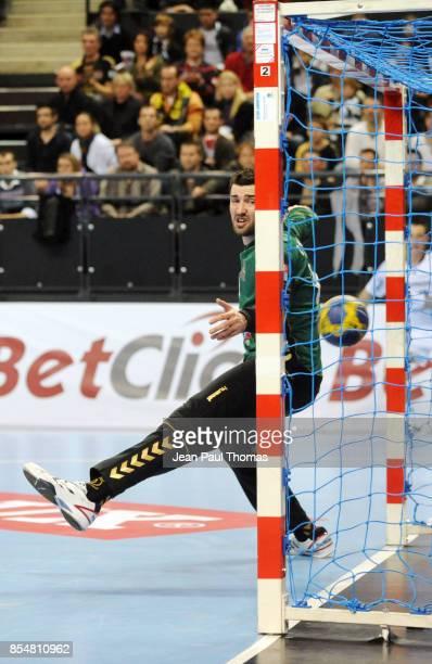 Cyril DUMOULIN Chambery / Kiel Handball Ligue des Champions