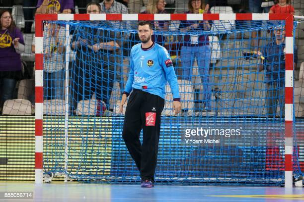 Cyril Dumoulin of Nantes during the Champions League match between Nantes and Rhein Neckar Lowen on September 27 2017 in Nantes France