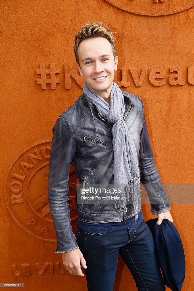 Cyril Feraud attends the French Tennis Open Day 8 at Roland Garros on May 29, 2016 in Paris, France.