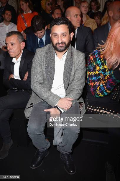 Cyril Hanouna attends the Balmain show as part of the Paris Fashion Week Womenswear Fall/Winter 2017/2018 on March 2 2017 in Paris France