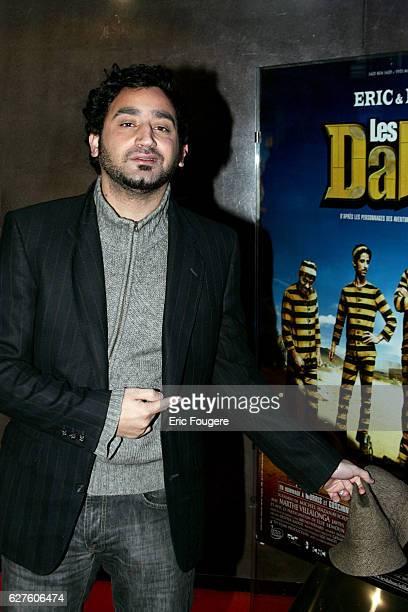Cyril Hanouna attends the Paris premiere of the movie 'Les Dalton'