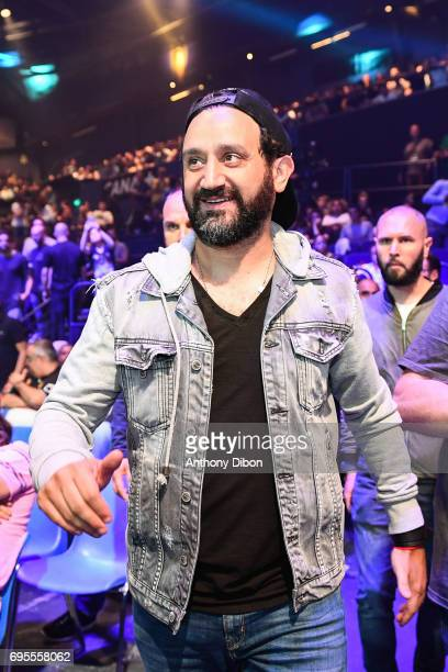 Cyril Hanouna during the boxing event la conquete at Palais des Sports on June 2 2017 in Paris France