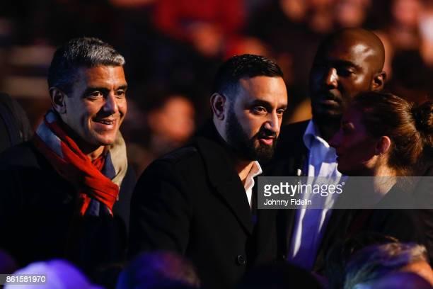 Cyril Hanouna during the boxing event La Conquete at Zenith de Paris on October 14 2017 in Paris France