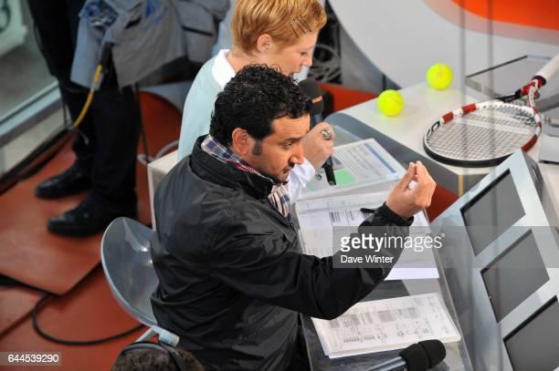 Cyril HANOUNA Plateau France Television Roland Garros 2011 Photo Dave Winter / Icon Sport
