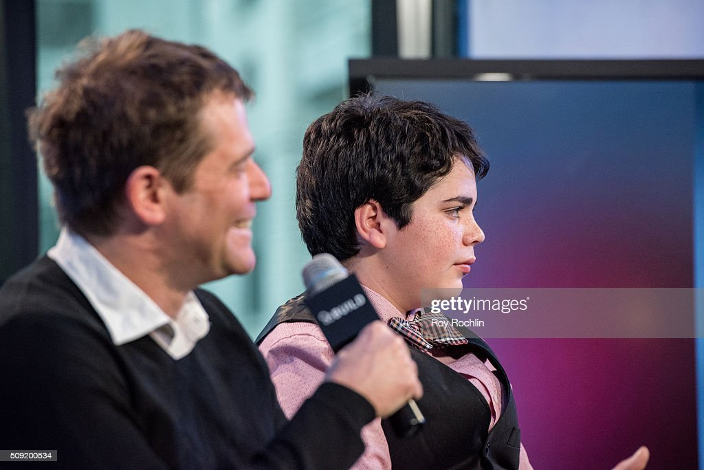 Cyrus Arnold and Nick Stoller discuss Zoolander 2 with AOL Build at AOL Studios In New York on February 9, 2016 in New York City.