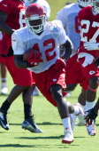 Cyrus Gray of the Kansas City Chiefs is shown during training camp on July 28 2012