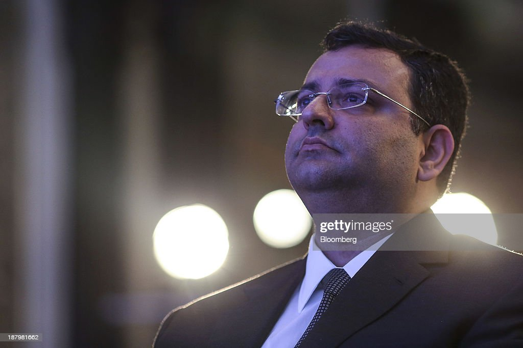 <a gi-track='captionPersonalityLinkClicked' href=/galleries/search?phrase=Cyrus+Mistry&family=editorial&specificpeople=8705051 ng-click='$event.stopPropagation()'>Cyrus Mistry</a>, chairman of Tata Group, attends the launch of India@75: Call To Action in Mumbai, India, on Thursday, Nov. 14, 2013. Tata Group is India's biggest business group. Photographer: Dhiraj Singh/Bloomberg via Getty Images