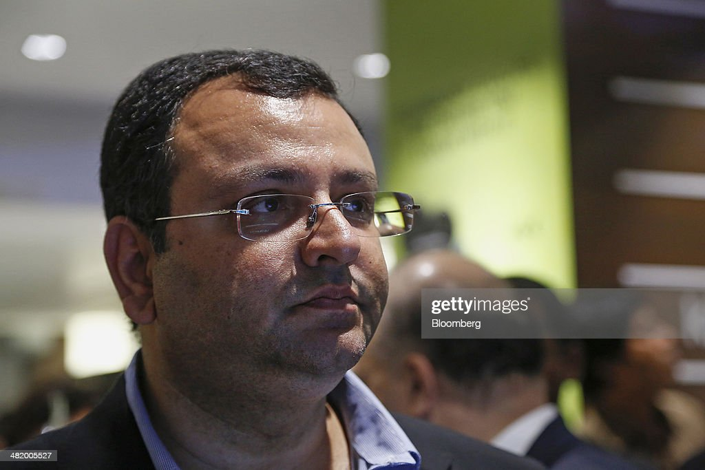 <a gi-track='captionPersonalityLinkClicked' href=/galleries/search?phrase=Cyrus+Mistry&family=editorial&specificpeople=8705051 ng-click='$event.stopPropagation()'>Cyrus Mistry</a>, chairman of Tata Group, attends the opening of Croma's 101st electronics megastore, operated by Tata Group's Infiniti Retail unit, in Mumbai, India, on Wednesday, April 2, 2014. Mistry is planning to spend at least $8 billion building roads, airports and housing, betting a stable administration after India's coming elections will lead to a new wave of infrastructure development. Photographer: Vivek Prakash/Bloomberg via Getty Images