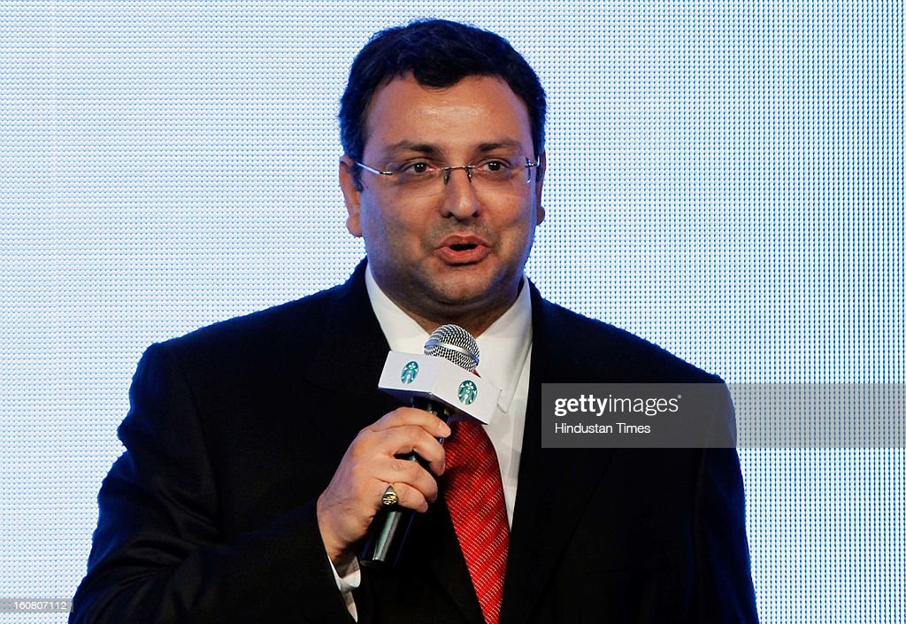 <a gi-track='captionPersonalityLinkClicked' href=/galleries/search?phrase=Cyrus+Mistry&family=editorial&specificpeople=8705051 ng-click='$event.stopPropagation()'>Cyrus Mistry</a>, Chairman, Tata Sons during the launch of Starbucks Coffee 'A Tata Alliance' coffee shop on February 6, 2013 in New Delhi, India. Tata Starbucks Ltd. is a fifty/fifty joint venture company, owned by Starbucks Corporation and Tata Global Beverages, that owns and operates Starbucks outlets in India.