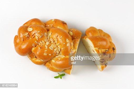 Czech Christmas bread : Foto stock