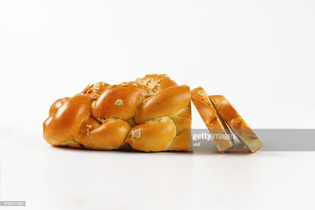 Czech Christmas bread : Foto de stock